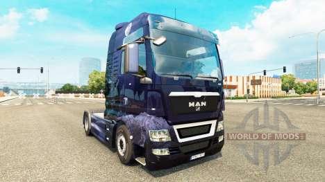 Winter Wolves Haut für Traktoren für Euro Truck Simulator 2