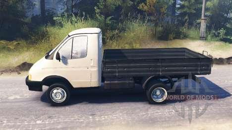 GAS-3302 Gazelle v2.0 für Spin Tires
