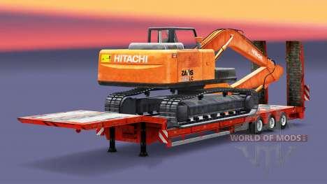 Bas de balayage à la charge de l'excavatrice pour Euro Truck Simulator 2