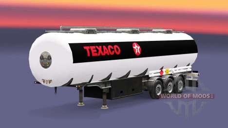 Kraftstoff-Auflieger Texaco für Euro Truck Simulator 2