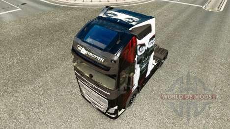 Valentina peau pour Volvo camion pour Euro Truck Simulator 2