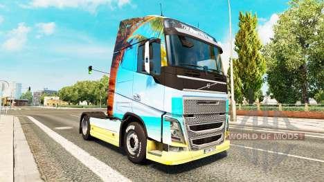 Natur skin für Volvo-LKW für Euro Truck Simulator 2