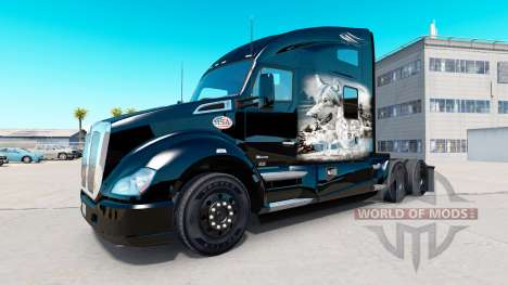 Peau de loup pour tracteur Kenworth pour American Truck Simulator