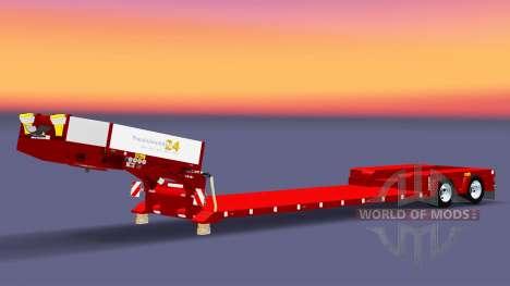 Tiefbett Schleppnetz Doll Vario für Euro Truck Simulator 2