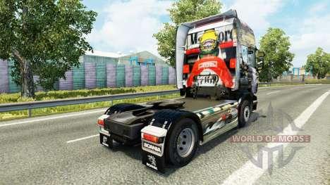 Airton Senna peau pour Scania camion pour Euro Truck Simulator 2