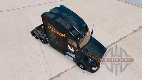 Haut Die Aufteilung der Kenworth truck für American Truck Simulator
