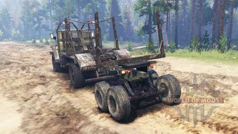 Ural-43206-10 für Spin Tires