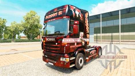 Support 81 de la peau pour Scania camion pour Euro Truck Simulator 2