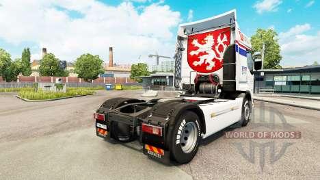 CSAD Haut für Renault-LKW für Euro Truck Simulator 2