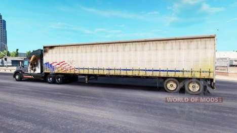 Alte Vorhang semi-trailer für American Truck Simulator