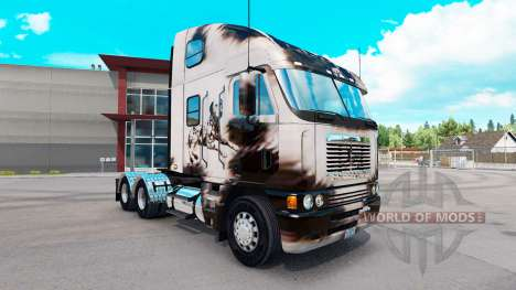 Скин Überarbeitet Dalmatin на Freightliner Argos für American Truck Simulator