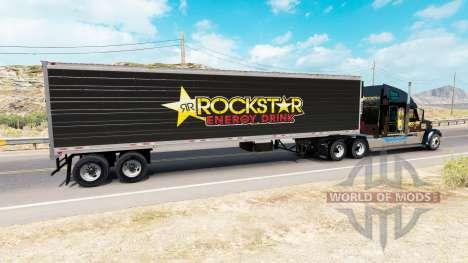 Haut Rockstar Energy für semi-refrigerated für American Truck Simulator