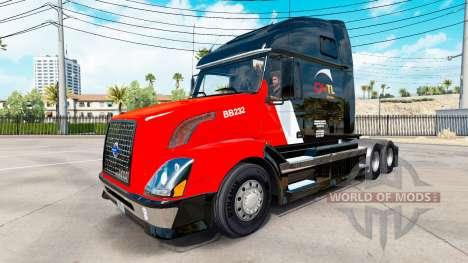 K-skin für den Volvo truck VNL 670 für American Truck Simulator