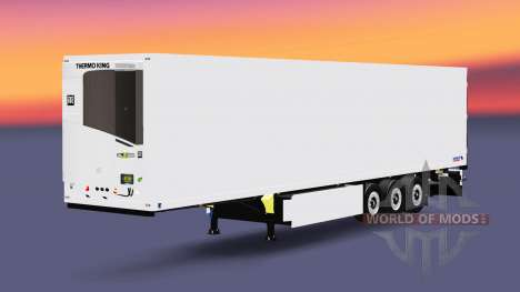 Eine Sammlung von Anhänger mit verschiedenen Las für Euro Truck Simulator 2
