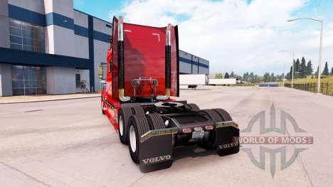 Volvo VNL 670 v2.0 pour American Truck Simulator
