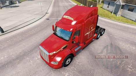 Haut Prime inc. die Zugmaschine Peterbilt für American Truck Simulator