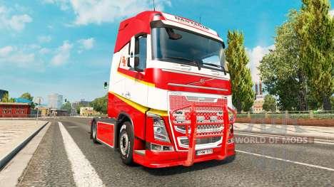Tuning pour Volvo FH pour Euro Truck Simulator 2