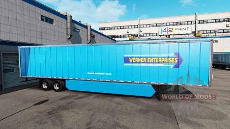 Une collection de peaux états-unis et le Canada  pour American Truck Simulator
