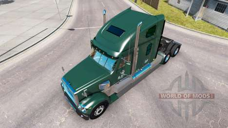 La peau LDI sur le camion Freightliner Coronado pour American Truck Simulator