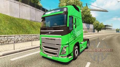 La Flèche verte de la peau pour Volvo camion pour Euro Truck Simulator 2