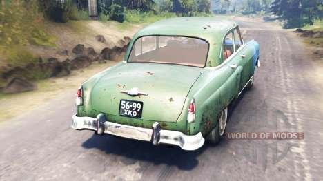 GAZ-21 Volga pour Spin Tires