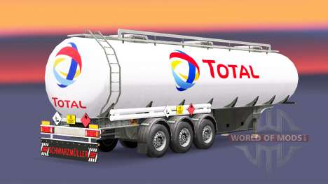 Carburant semi-remorque Total pour Euro Truck Simulator 2