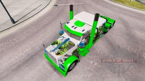 Peau de serpent pour le camion Peterbilt 389 pour American Truck Simulator