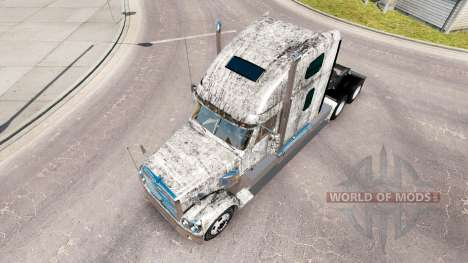 Haut-Grunge-Metal auf dem truck-Freightliner Cor für American Truck Simulator