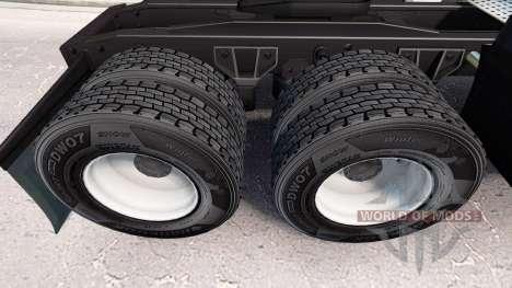 Reifen Hankook v1.2 für American Truck Simulator