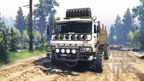 KamAZ-43114 v3.0 pour Spin Tires