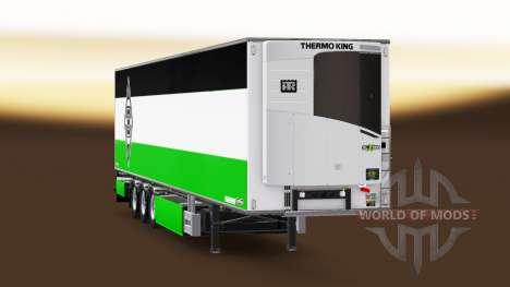 Semi-Remorque Chereau Borussia Monchengladbach pour Euro Truck Simulator 2