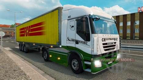 Peaux pour la circulation des camions v1.3.1 pour Euro Truck Simulator 2