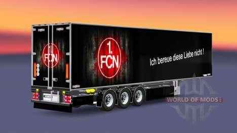 Semi-Trailer Chereau 1. FC Nurnberg für Euro Truck Simulator 2