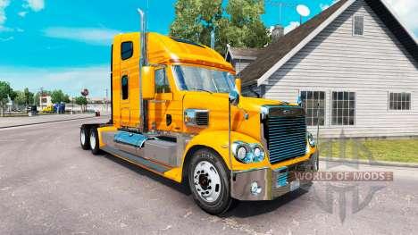 Haut-Metallic auf dem truck-Freightliner Coronad für American Truck Simulator