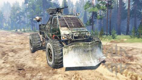 GAZ-3302 [Metro 2033] pour Spin Tires
