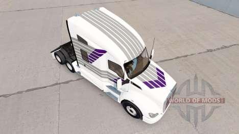 Haut Scllops auf einem Kenworth-Zugmaschine für American Truck Simulator