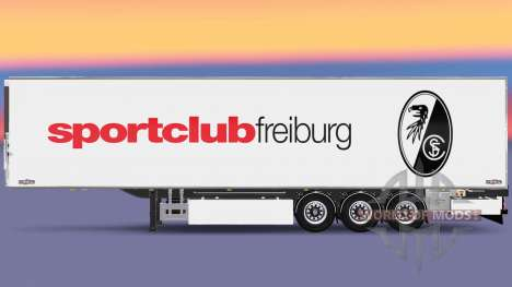 Semi-trailer Chereau SC Freiburg für Euro Truck Simulator 2