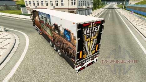 Semi-Trailer Schmitz Cargobull 25 Jahre Wacken für Euro Truck Simulator 2