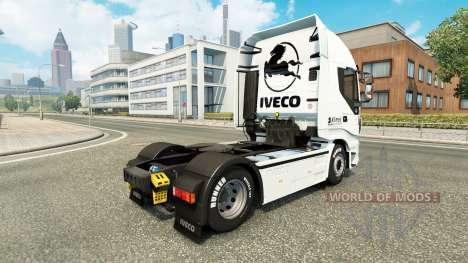 La peau Klimes pour Iveco camion pour Euro Truck Simulator 2