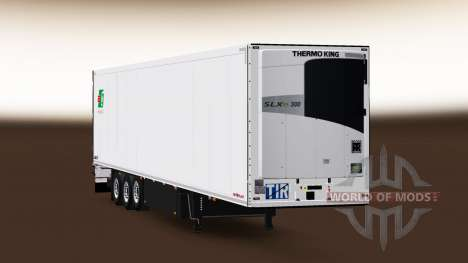 Semi-Remorque Schmitz Cargobull A. Griciaus pour Euro Truck Simulator 2
