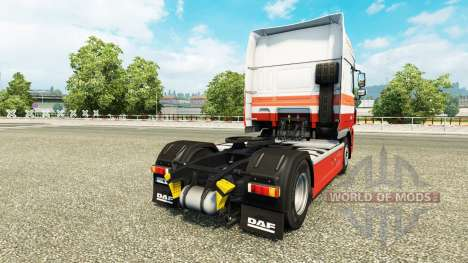 Les Nabers skin for DAF truck pour Euro Truck Simulator 2