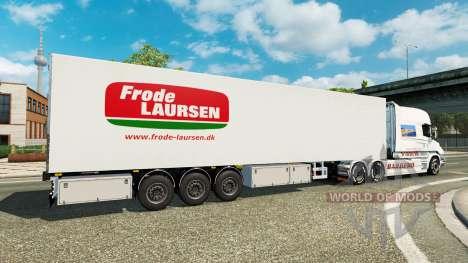 La semi-remorque-le réfrigérateur Narco pour Euro Truck Simulator 2