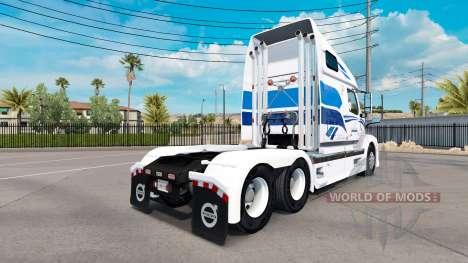 Haut-Premiere für Volvo-LKW-VNL 670 für American Truck Simulator