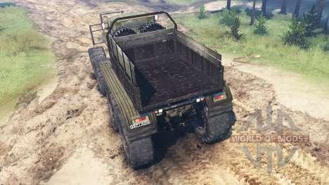 Ural-B für Spin Tires