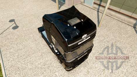 Skin Scania V8-LKW von Scania für Euro Truck Simulator 2