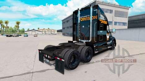 La peau de La Division de la Kenworth truck pour American Truck Simulator