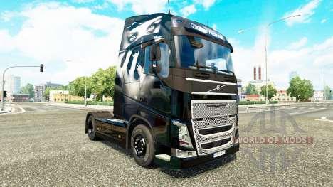Valentina skin für Volvo-LKW für Euro Truck Simulator 2