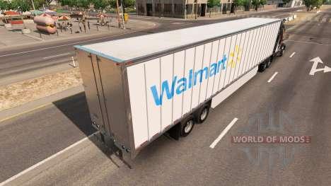 Eine Sammlung von skins, die USA und Kanada auf  für American Truck Simulator