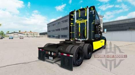 Steelers de Pittsburgh de la peau pour le tracte pour American Truck Simulator