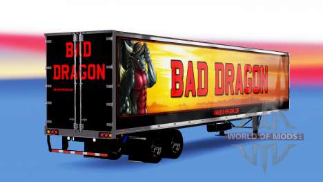 All-metal-halb-Bad Dragon für American Truck Simulator